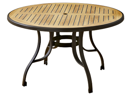 Round Resin Patio Table Images Decoration Ideas Watchthetrailerfo Outdoor Dining Design