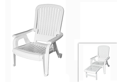Miami Outdoor Lounge Chair U2013 White