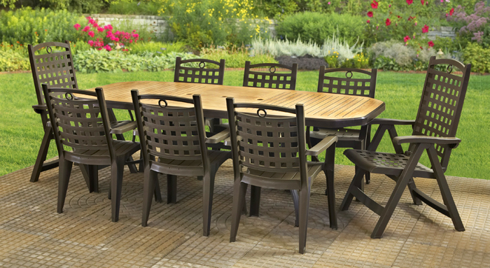 victoria-dining - Patio And Deck Furniture - Grosfillex