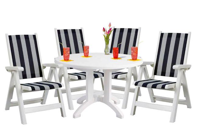 miami outdoor lounge chair u2013 white