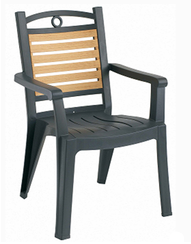 Bali Foldable. Winston High Back Resin Chair ...